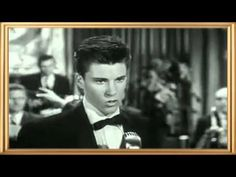 April 10, 1957, Ricky Nelson sang for the first time on The Adventures of Ozzie and Harriet. The TV show made it on the air before Ricky's first record released. He had a whole cadre of new fans overnight. My pre-teen gal pals and I were already fans, but we were swooning all over at school the next day - 'did you see Ricky last night?'  Ricky sang the Fats Domino standard  I'm Walkin' which he recorded  March 26, 57 for Verve Records. Ricky was only 17.