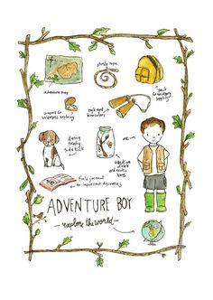 Art Art  aventure Boy  Archiv pour enfants par trafalgarssquare