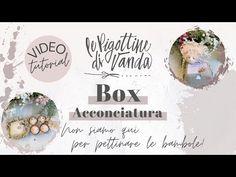 """Le Pigottine di Vanda - """"Box Acconciatura - non siamo qui per pettinare le bambole"""" - YouTube Place Cards, Place Card Holders, Dolls, Tutorial, Youtube, Angel, Baby Dolls, Art Dolls, Sash"""