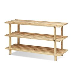 Found it at Wayfair - Pine Solid Wood 3 Tier Shoe Rack