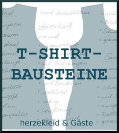Viele Ideen rund ums T-Shirt-Nähen! Serie T-Shirt-Bausteine gibt viele Tricks für ein tolles T-Shirt preis Sewing Tutorials, Sewing Hacks, Sewing Projects, Sewing Patterns, Sewing Ideas, Sewing Clothes, Diy Clothes, Diy Tops, Recycled T Shirts