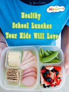 Need fresh school lunch ideas? Never run out of delicious ideas your kids will actually eat. Picky eaters? no problem! Get organized with a shopping list and prep ahead sheet so you don't waste food or money!