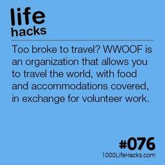 DIY Life Hacks & Crafts : #076 Too Broke To Travel?