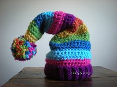 HOLIDAY HATS Crochet PATTERN in 7 sizes by LilySong on Etsy, $5.00