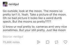 Just 21 Tumblr Posts Appreciating My Wife The Moon