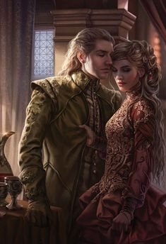 """likeadarkparadise: """" """"Jaime and Cersei Lannister featured in The Game of Thrones Illustrated Edition """" """" Foto Fantasy, Fantasy Love, Fantasy World, Dark Fantasy, Fantasy Inspiration, Character Inspiration, Character Art, Jaime Lannister, Cersei Lannister"""