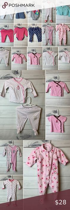4 BNWOT Girls Ex Osh Kosh PInk /& White Stripe Cotton Blouse Ages 3 5 /& 6 Years