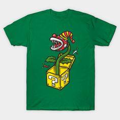 Killer Plant Clown in a Box T-Shirt - Super Mario Bros T-Shirt is $14 today at TeePublic!