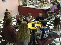 Lakeside Youth Group gathering a bite to eat