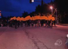 Student protesters have shut down the University of California-Santa Cruz.