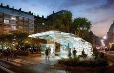 Metro-Station Entrances for Donostialdea | Snøhetta Studio