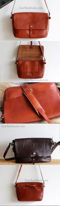 88373be781545 Handmade Leather bag for women leather shoulder bag crossbody Small Leather  Bag