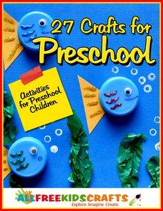 This is an UNREAL collection of 27 crafts for preschool! It's the perfect guide for parents and teachers...and it's free!!