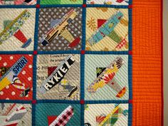Detail 1  Wonderful use of fabric in this piece.  2012 Tokyo International Great Quilt Festival