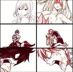 NaLu and Gruvia... I like them both, but NaLu is my fav ❤️