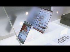 ジャパンディスプレイ、超薄型の最先端ディスプレイを開発 #DigInfo  Ultra-thin display  1mm thick