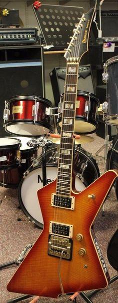 1982 IBANEZ Destroyer II Electric Guitar with original case F82/4162 Watch video #Ibanez
