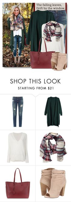 """""""The Falling Leaves Drift by the Window..."""" by brendariley-1 ❤ liked on Polyvore featuring Frame, Zanone, Pieces, Yves Saint Laurent and Chinese Laundry"""