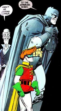 "The Dark Knight Returns #4 (June 1986) ""The Dark Knight Falls"" Art by Frank Miller & Klaus Janson.Words by Frank Miller"