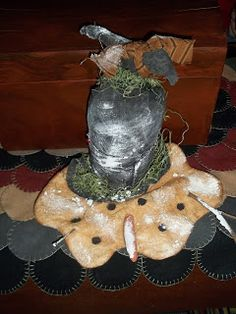 Simply Put Plus-melting snowman