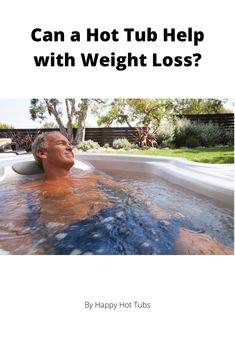 With more and more of us striving to improve our wellness through increased exercise and an improved diet, people think of many creative ways to lose weight. Many of these techniques are not scientifically proven and some can even be dangerous. Sitting in a hot tub does not give much direct weight loss benefit but it can be a great compliment to your weight loss journey. Happy Hot, Ways To Lose Weight, Excercise, Weight Loss Journey, Tub, Benefit, Wellness, Diet, Canning
