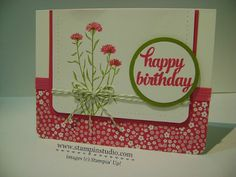 Stampin' Studio, Stampin' Up!, Happy 2nd Birthday Stampin' Studio, Wild About Flowers, Tin of Cards,