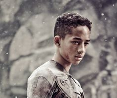 After Earth - Jaden and Will Smith  It was an odd movie! :D