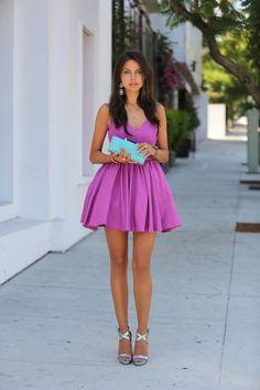 Lilac + aqua