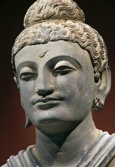 Standing Buddha (detail)   Gandhara, second half of the 2nd century A.D.