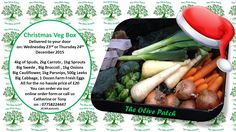 Locally Grown Christmas Veg Boxes delivered to your door!  online order form: http://theolivepatchwigan.weebly.com/christmas-veg-box-order-form.html