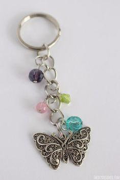 Gift Idea Butterfly Scarf Jewellery Hanger Belt