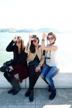 Studying abroad with sisters #nyudphie