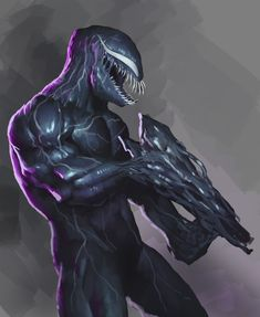 Venom with gun Movie 2019 Marvel Avengers, Marvel Comics, Comics Spiderman, Marvel Venom, Marvel Comic Universe, Marvel Comic Books, Marvel Heroes, Marvel And Dc Characters, Comic Book Characters