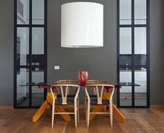 Monday morning in grey with MOARÉ pendant lamp by Antoni Arola