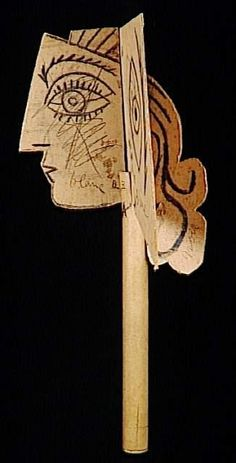 Picasso Style Paper Sculpture — ART CAMP : Pablo Picasso, Head of a Woman, Cardboard, Museum Picasso, Paris. Picasso Blue, Picasso Style, Picasso Art, Cardboard Sculpture, Cardboard Art, Sculpture Art, Georges Braque, Instalation Art, Cubist Movement