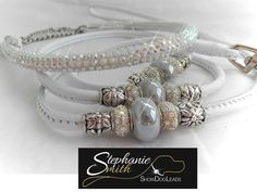 swarovski crystal encrusted show set made to measure for any breed see more at www.stephaniesmithshowdogleads.com
