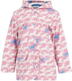 Hatley Pink Horse Show Raincoat on shopstyle.co.uk