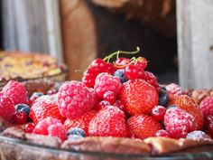 French Berry Cake
