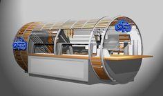 "Food & Beverage: ""Kiosco del Artesano"" on Behance"