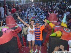 desfile de carrozas en los carnavales turisticos internacionales de Puerto Cabello 2012 Puerto Cabello