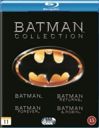 Batman Collection (4-disc Blu-ray) 17,95€