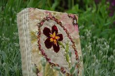nouveau carnet textile ....
