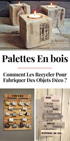 La MÉGA Liste des Objets Déco à Fabriquer en Palette Diy Bedroom Decor, Diy Home Decor, Decoration Palette, Palette Deco, Hallway Designs, Hallway Ideas, Pallet Furniture, Decorative Objects, Woodworking Crafts