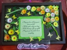 Faith's Quilling : Wall Hangings