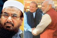 Hafiz Saeed raises question on PM Modi's warm welcome in Pakistan