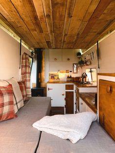 Ford Transit Camper, Campervan Rental, In Wall Speakers, L Shaped Sofa, Wood Burner, Spacious Living Room, How To Make Bed, Virtual Tour, Camper Van