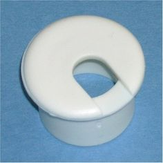 """1"""" White Desk Grommet (5 Pack) by Bainbridge Manufacturing, Inc.. $6.00. 1"""" white desk grommet. Fits in 1"""" round hole. Package of 5."""