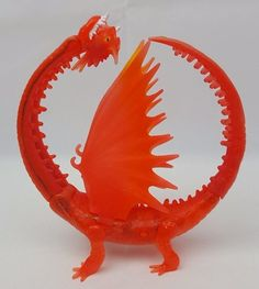 DreamWorks How To Train Your Dragon HIDEOUS ZIPPLEBACK Orange Two Head Figure | Toys & Hobbies, TV, Movie & Character Toys, Other TV/Movie Character Toys | eBay!