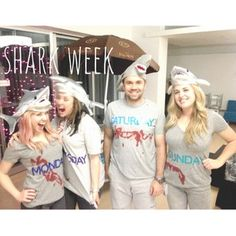 Shark Week   31 Rad Group Costume Ideas To Steal This Halloween