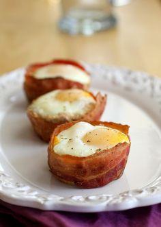 Bacon & Egg Cups